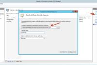 Certificate Server Installation – Microsoft Certificate in Domain Controller Certificate Template