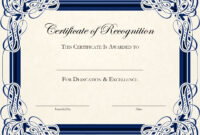Certificate-Template-Designs-Recognition-Docs | Certificate throughout Certificate Of Appreciation Template Doc