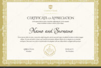 Certificate Template Diploma Modern Design Gift Certificate pertaining to Graduation Gift Certificate Template Free