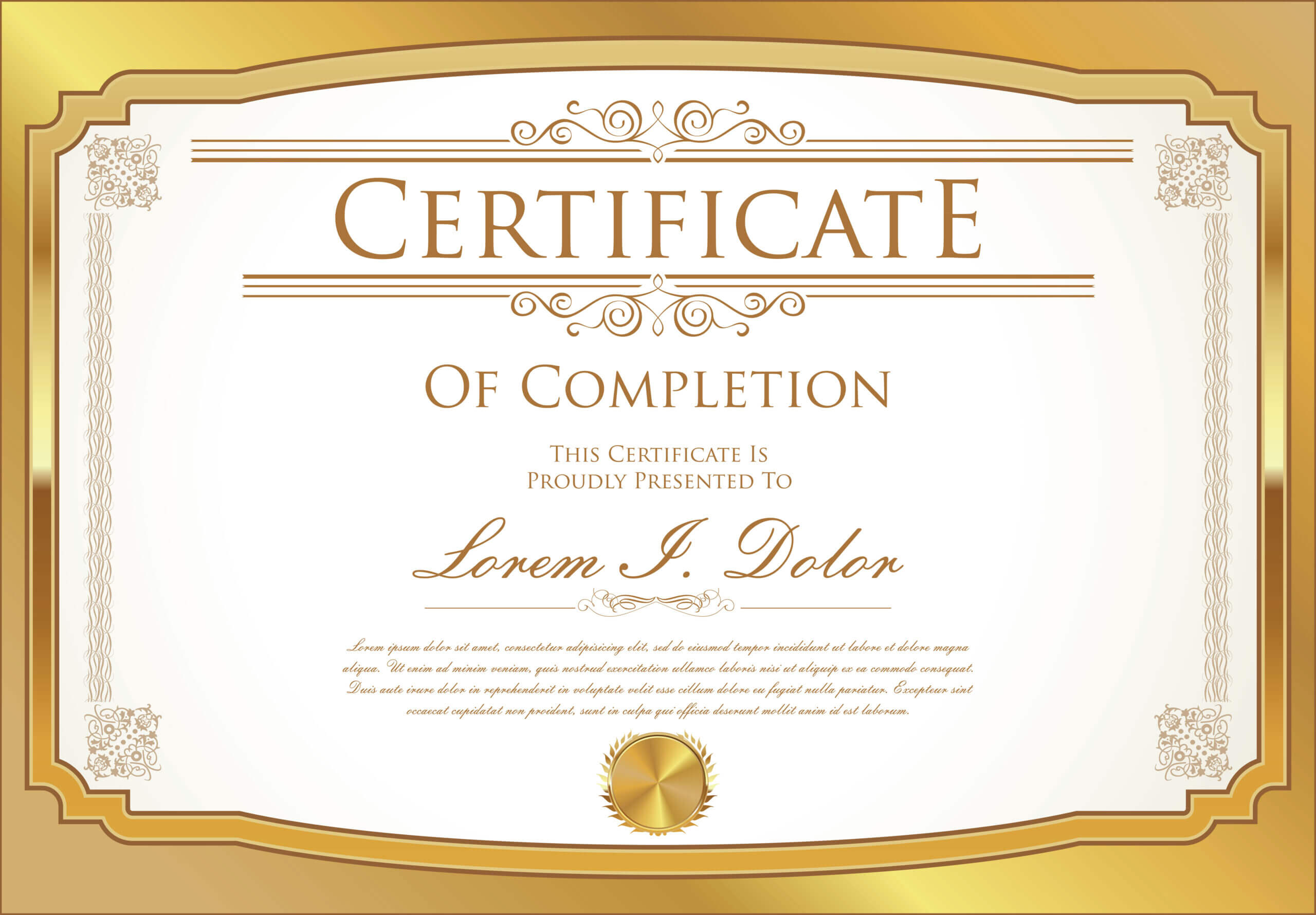 Certificate Template - Download Free Vectors, Clipart Intended For Commemorative Certificate Template