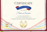 Certificate Template For Achievement, Appreciation Or for International Conference Certificate Templates