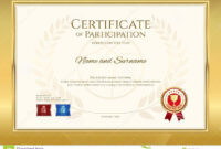 Certificate Template In Basketball Sport Theme With Gold inside Basketball Camp Certificate Template