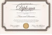 Certificate Template in Commemorative Certificate Template