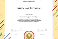 Certificate Template In Football Sport Theme With for Rugby League Certificate Templates