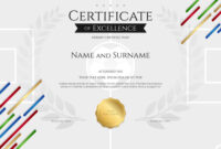 Certificate Template In Football Sport Theme With intended for Football Certificate Template
