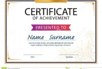 Certificate Template,diploma Layout,a4 Size Stock Vector pertaining to Referral Certificate Template