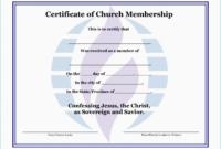 Certificate Templates: Free Church Membership Certificates throughout New Member Certificate Template