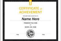 Certificate Templates – U Of I Brand Resource Center regarding Walking Certificate Templates