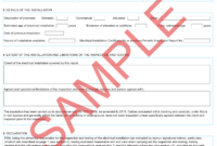Certificates | Everycert pertaining to Electrical Installation Test Certificate Template