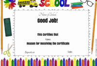 Certificates For Kids – Free And Customizable – Instant Download intended for Certificate Of Achievement Template For Kids