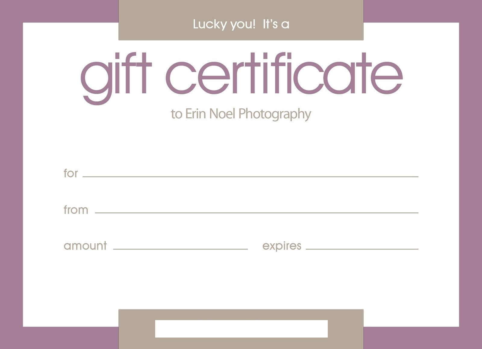 Certificates: Stylish Free Customizable Gift Certificate Inside Certificate Template For Pages