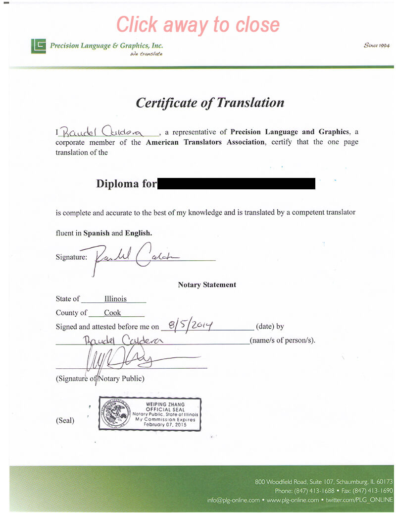 Certified Document Translation Services, Birth Certificates Throughout Birth Certificate Translation Template Uscis