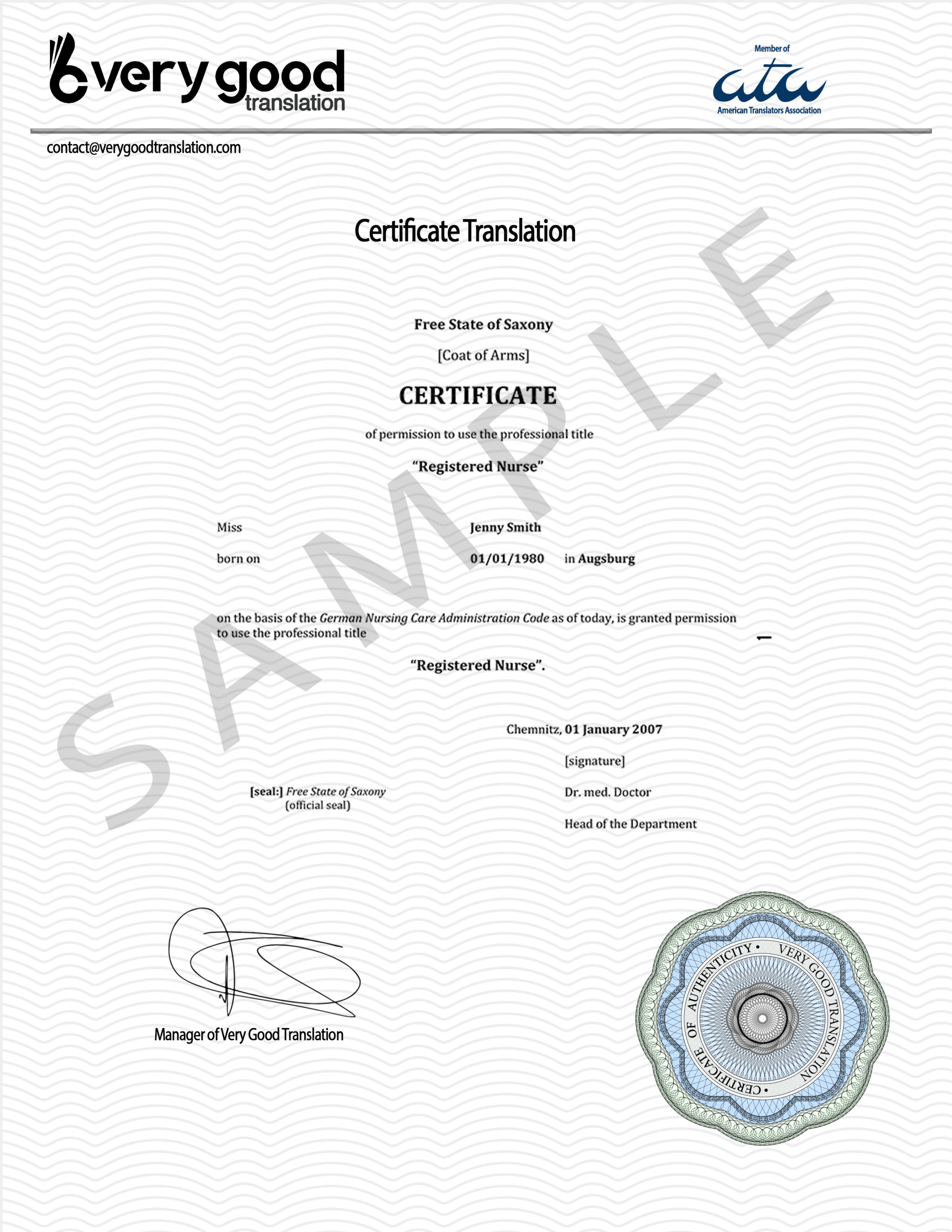 Certified Spanish To English Document Translation Services Intended For Birth Certificate Translation Template Uscis