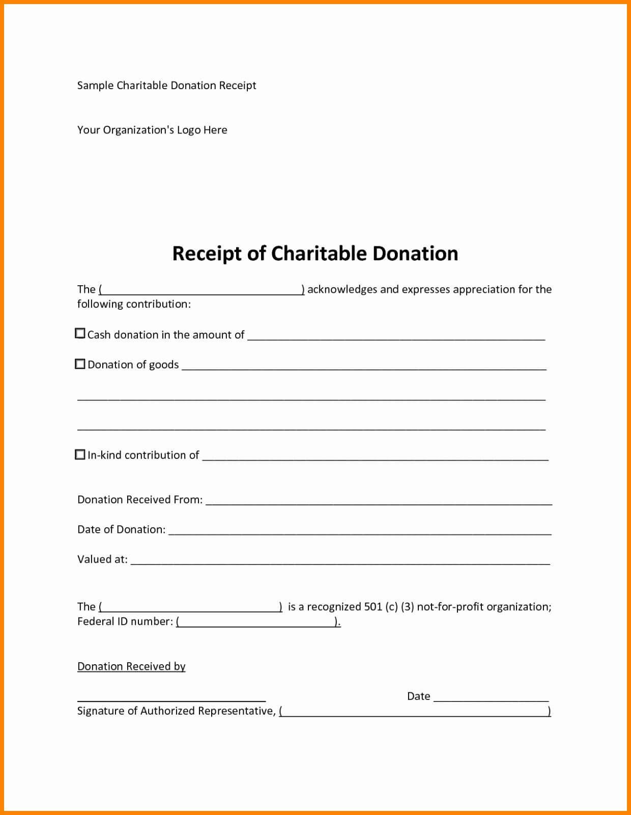 Charity Pledge Form Template Fresh Silent Auction Basket Intended For Donation Card Template Free