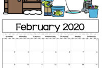 Check Out Our Free Editable 2020 Calendar Available For inside Blank Calendar Template For Kids