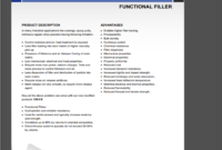 Chemical Filler Datasheet Template Professional And within Datasheet Template Word