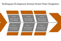 Chevron Arrows Powerpoint Templates inside Powerpoint Chevron Template