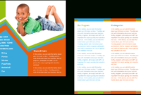 Child Care Brochure Template 26 with Daycare Brochure Template