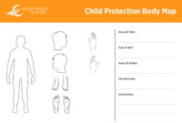 Child Protection Body Map Template | Safeguarding Advice with regard to Blank Body Map Template