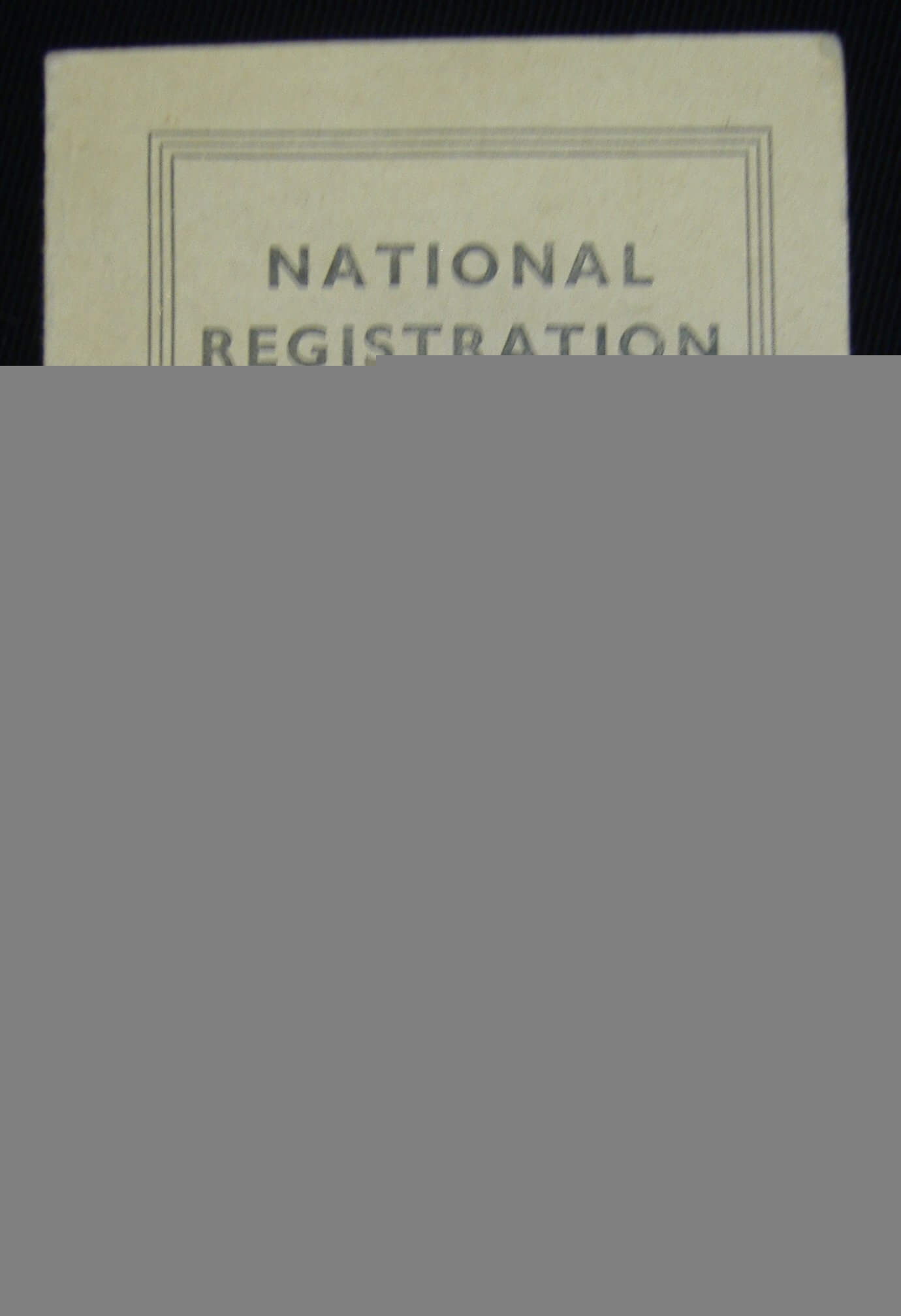 Child's Identity Card: Nen Gallery Inside World War 2 Identity Card Template