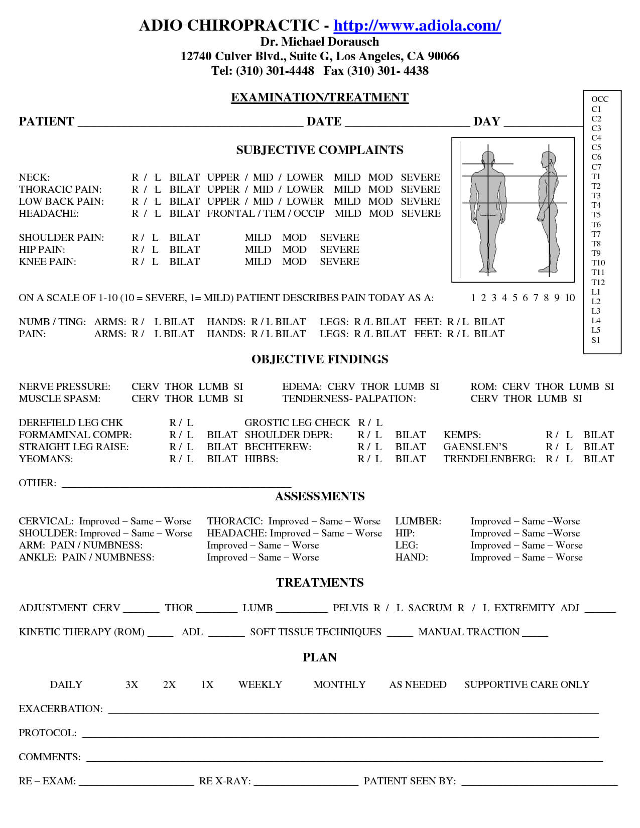 Chiropractic Soap Notes | Soap Note, Doctors Note Template Within Soap Report Template