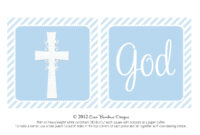Christening Banner Template Free ] – Cross Templates regarding Free Printable First Communion Banner Templates
