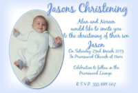 Christening Invitation Cards : Christening Invitation Cards in Baptism Invitation Card Template