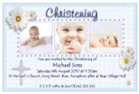 Christening Invitation Cards : Christening Invitation Cards with Baptism Invitation Card Template