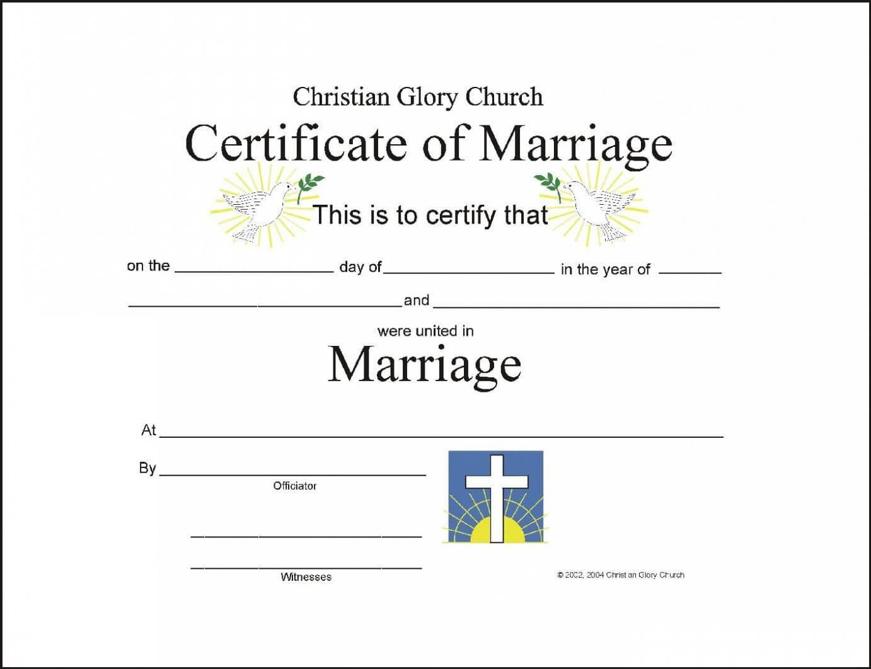 Christian Wedding Certificate Sample - Google Search Inside Christian Certificate Template