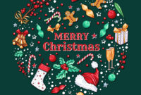 Christmas Banner Template for Merry Christmas Banner Template