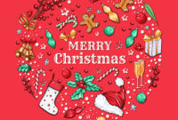 Christmas Banner Template with Merry Christmas Banner Template