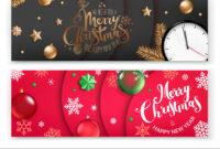 Christmas Banners Template Merry Christmas And pertaining to Merry Christmas Banner Template