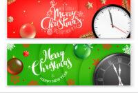 Christmas Banners Template Merry Christmas And regarding Merry Christmas Banner Template