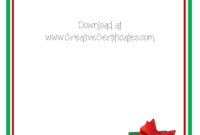 Christmas Border For Word Document – Forza.mbiconsultingltd intended for Word Border Templates Free Download