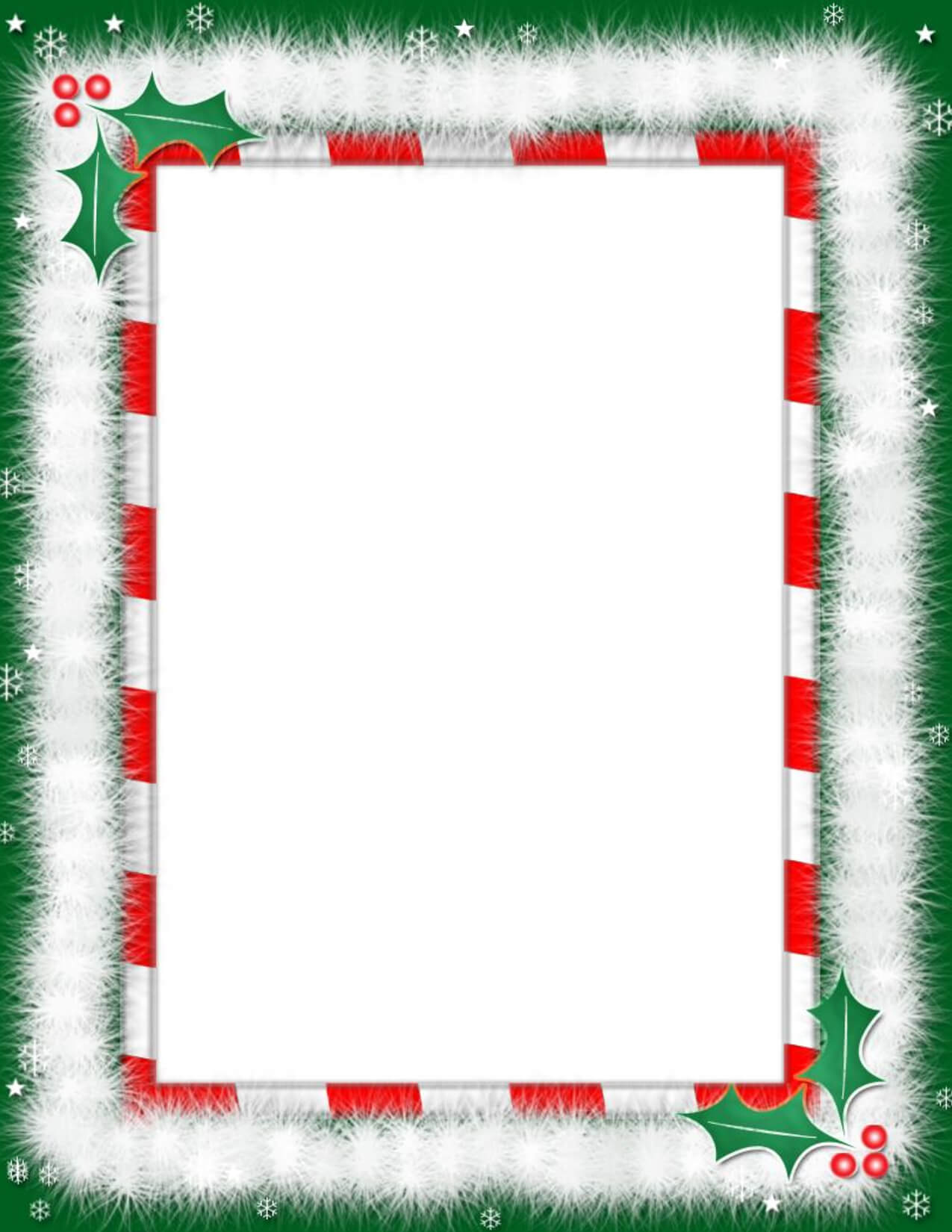 Christmas Border Paper - Google Search … | Free Christmas With Regard To Christmas Border Word Template