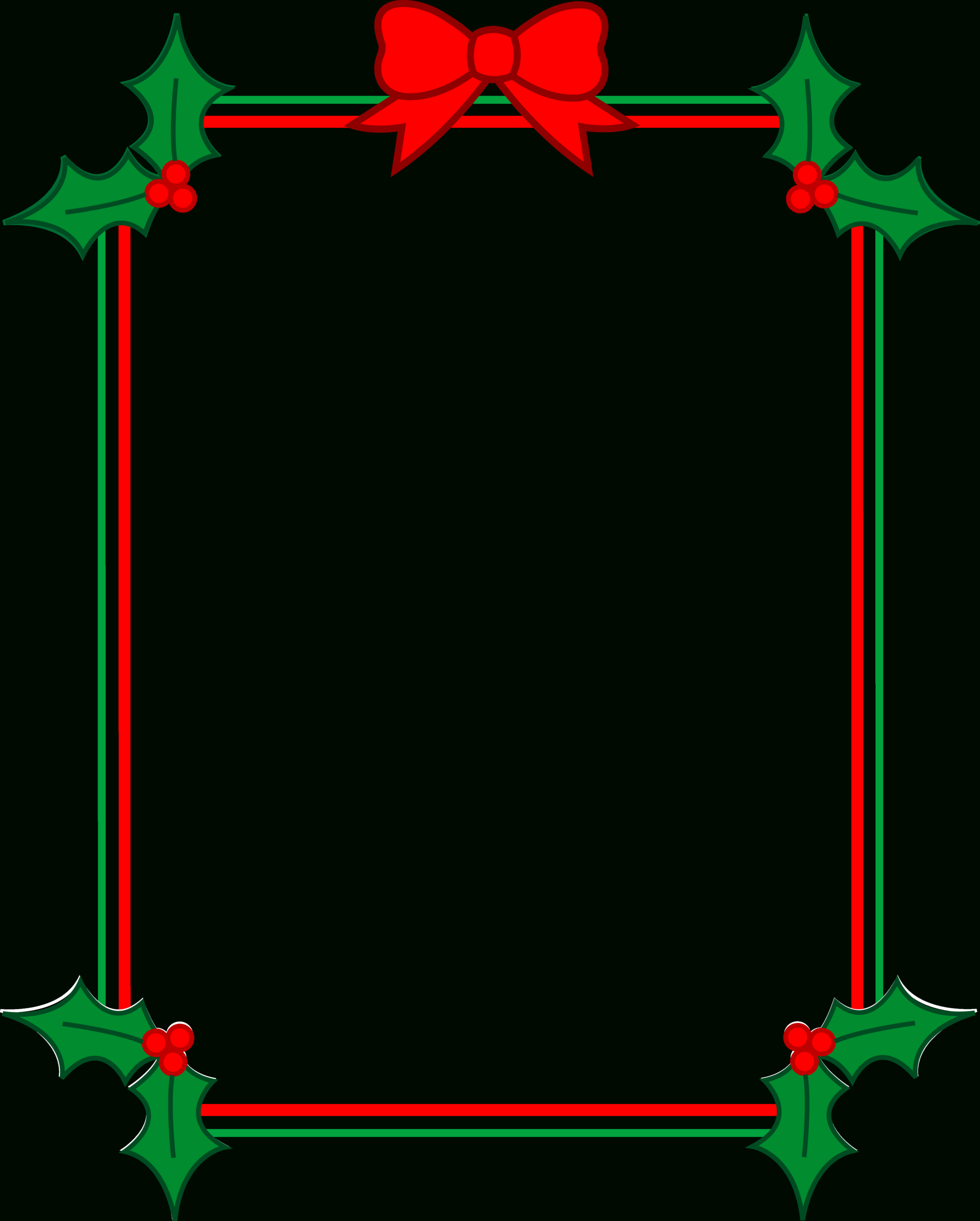 Christmas Border Word - Forza.mbiconsultingltd Inside Christmas Border Word Template