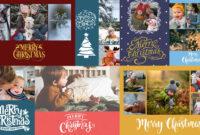 Christmas Card Psd Templates For Photographers – Slr for Holiday Card Templates For Photographers