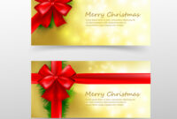 Christmas Card Template For Invitation And Gift Pertaining To Present Card Template