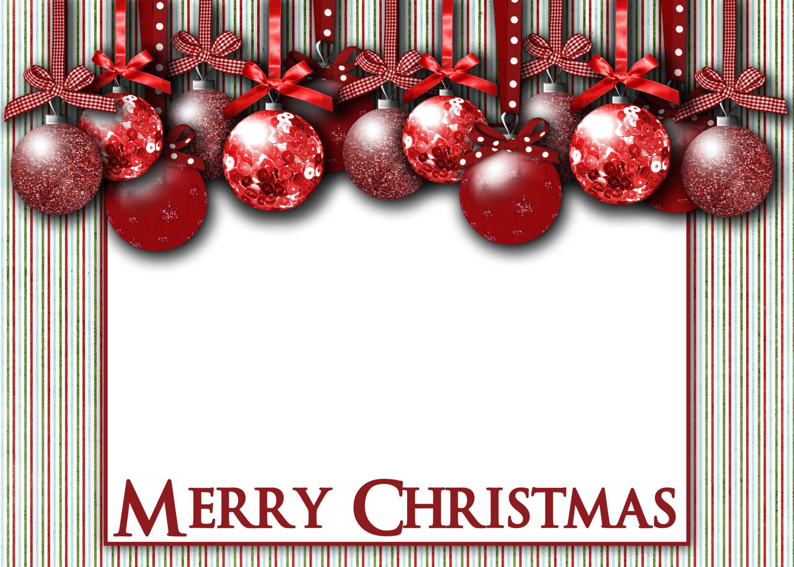 Christmas Card Template – Google 検索   Christmas Card Inside Free Holiday Photo Card Templates