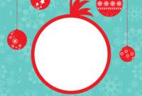 Christmas Card Template in Adobe Illustrator Christmas Card Template