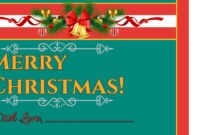 Christmas Card Template regarding Happy Holidays Card Template
