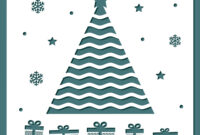 Christmas Card Template With Laser Cutting with regard to Adobe Illustrator Christmas Card Template