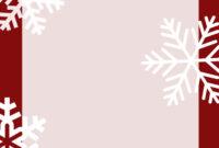 Christmas Card Templates – Ironi.celikdemirsan intended for Christmas Note Card Templates