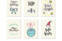 Christmas Card Templates pertaining to Printable Holiday Card Templates