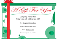 Christmas Gift Certificate Clipart within Homemade Christmas Gift Certificates Templates