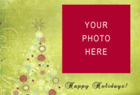 Christmas Greeting Card Template Beautiful Free Christmas throughout Christmas Photo Cards Templates Free Downloads