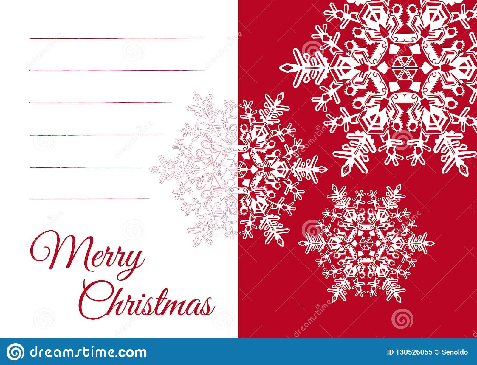 Christmas Greeting Card Template With Blank Text Field Stock Inside Free Printable Blank Greeting Card Templates