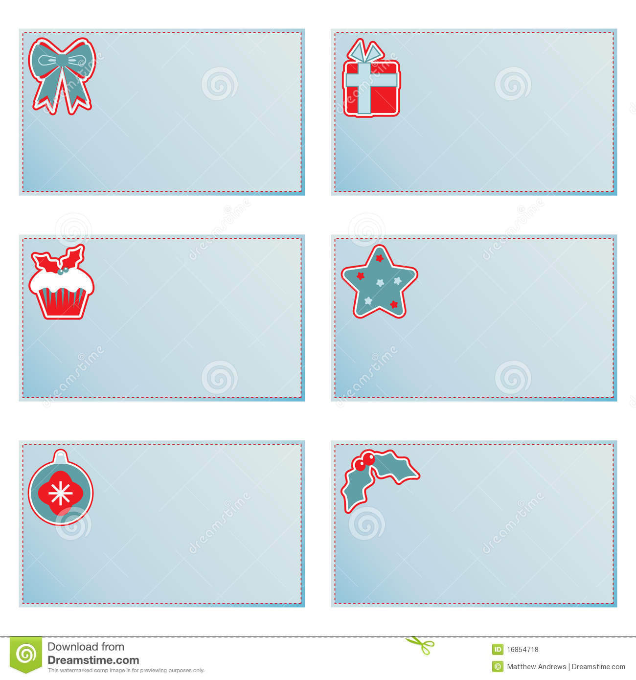 Christmas Note Cards Stock Vector. Illustration Of Intended For Christmas Note Card Templates