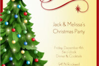 Christmas Party Invitation Template | Free Christmas for Free Christmas Invitation Templates For Word