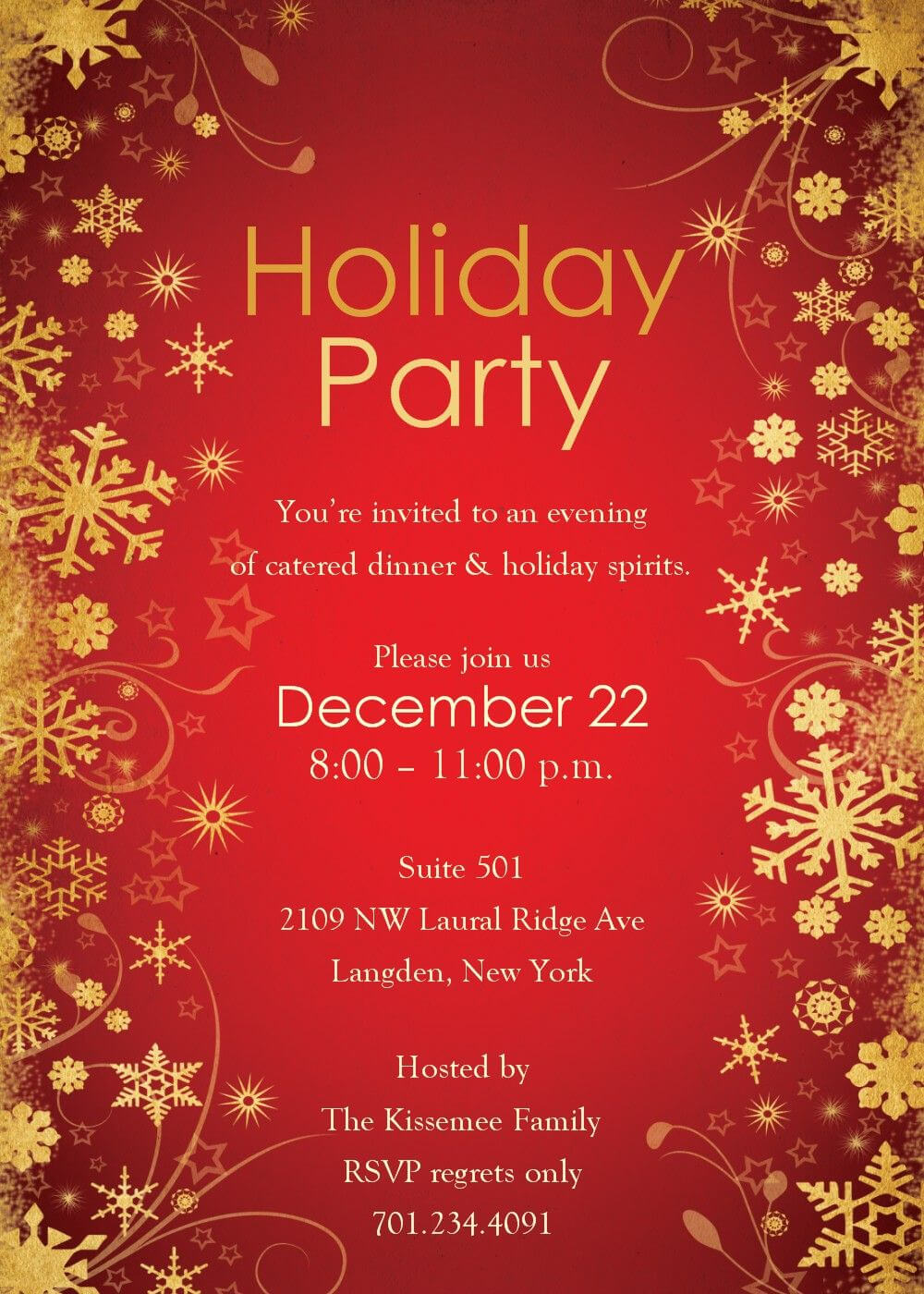 Christmas Party Invitations Templates Word | Christmas Party Pertaining To Free Christmas Invitation Templates For Word